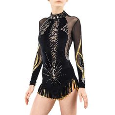 Rhythmic Gymnastics Leotard 195 for Competition Order as