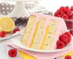 LEMON RASPBERRY LAYER CAKE | Food And Cake Recipes