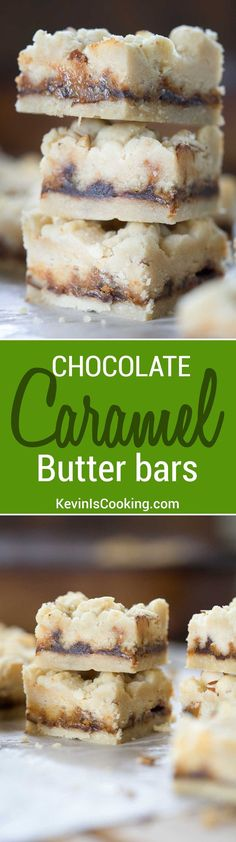 This recipe makes something like a shortbread cookie with melted chocolate and caramel in between.