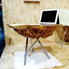2014 BKLYN DESIGNS | Schiller Projects — tree burl side table