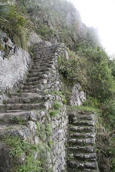 Stairs on huayna picchu by chrishartman, via Flickr