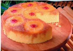 Pineapple Upside-Down Cake   MrFood.com