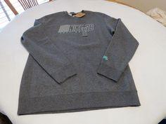 Nike skateboarding SB just do it. RARE sweat shirt Men's XL charcoal skate board #Nike #Sweatshirt