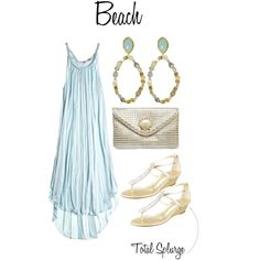 Best Dressed Wedding Guest: beach