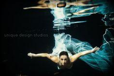 WEDDING. Underwater Photography  unique design studios