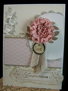 won top 3! for this wedding card.