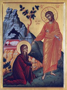 Noli Me Tangere, Greek Icons, Orthodox Icons, Princess Zelda, Painting, Fictional Characters, Google Search, Art, Art Background