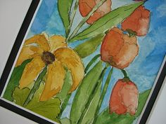 Wildflowerhouse: Sunshine and More Watercolors