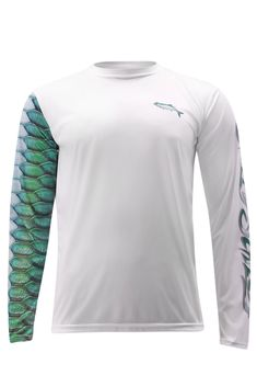 Ranger Boats Performance long sleeve sun shirts 30+UPF Green Gray