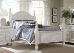 Bedroom Furniture, Cottage Retreat II King Panel Bed, Bedroom Furniture | Havertys Furniture