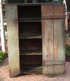 Primitive Antique Cupboards