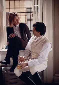 Kate and Leopold (Romantic//Comedy). A meeting of a modern girl and a man who lives in the past. Enjoy!