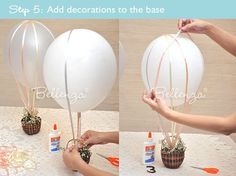 diy hot air balloon - Google Search