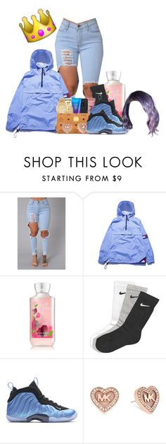 """""""Q.o.t.a"""" by jayzhee ❤ liked on Polyvore featuring NIKE and Michael Kors"""