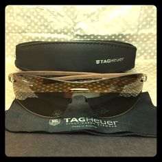 Tag Heuer Sunglasses Tag Heuer Sunglasses. Model#5101-202. Lens color: gradient brown. Frame color: brown Tag Heuer Accessories Sunglasses