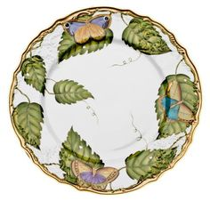 Exotic Butterflies Dinnerware by Anna Weatherley | Gracious Style