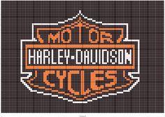Free To Use Harley Davidson Logo Pattern Chart