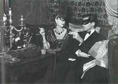 """Barbara Hutton and James H. Douglas at """"Bal D'Hiver"""""""