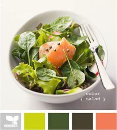 color combination...color salad