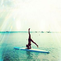 Bucket List: Yoga paddle boarding class