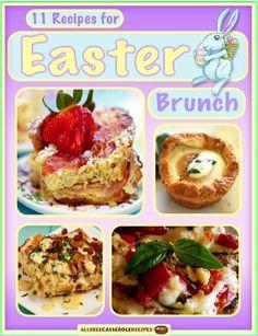 FREE e-Cookbook: 11 Recipes for Easter Brunch! #easter #brunch #recipes