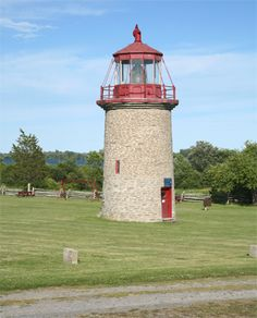 False Duck Island (1967) Lighthouse, Ontario Canada at Lighthousefriends.com