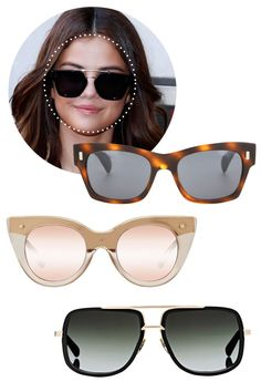 d8bfe027d30 Here s How to Find the Best Sunglasses for Your Face Shape. Eyeglasses For Women  Round