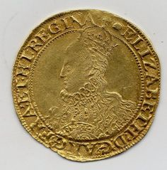 ELIZABETH I GOLD POUND, 1558-1603, MINT MARK WOOLPACK, HIGH GRADE, RARE Coin Worth, All Currency, Gold Money, Gold And Silver Coins, Antique Coins, World Coins, Rare Coins, Wax Seals, British History