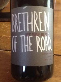 Brethren Of The Road California Mendocino County Red Blend