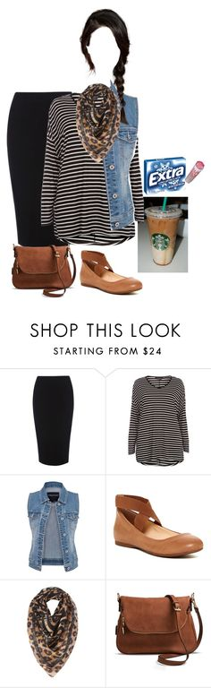 """""""Starbuckss"""" by bye18 ❤ liked on Polyvore featuring Warehouse, Dorothy Perkins, maurices, Jessica Simpson, Biba and Moda Luxe"""