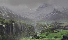 Titanfall 2 Wilds by Danny Gardner on ArtStation. Landscape Concept, Storytelling, Concept Art, Digital Art, Photo Wall, Environment, Star Wars, Creatures, Fan Art
