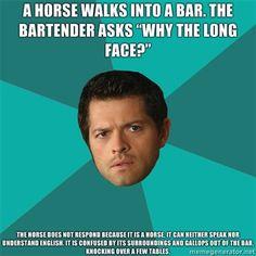 Anti-Joke Castiel