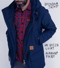 Orendain Jacket // McQueen Shirt Canada Goose Jackets, Mcqueen, Winter Jackets, Shirts, Fashion, Man Women, Style, Women, Clothing