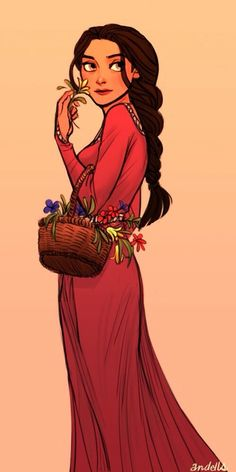 I'm not sure who drew this but it kinda reminds me of Disney