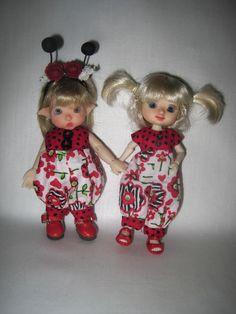 https://flic.kr/p/vMDhT8 | FS Pip and Amelia Thimble Ladybug Rompers FM me