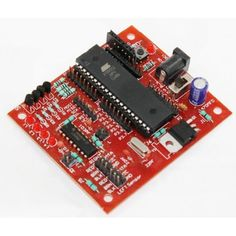 AT89SXX Development Board V2.0 with L293D is a complete starter kit and development system for AT89Sxx series of Micro Controllers from ATMEL ® Corporation. It has been designed with on board L293D and gives designer a quick start to develop code on 8051 Controllers.