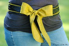 Just For You Sewlebrity Sewalong: Michelle sews the Tied Belt — SewCanShe | Free Daily Sewing Tutorials