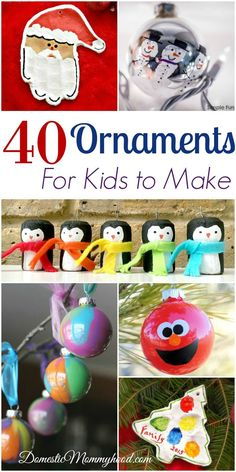 If you are looking for Ornaments for Kids to Make you have come to the right place! We have tons of ideas featured here that should keep your kids busy for a while and what better Kids Craft to do than one that is going to be used for a gift! If you are a little …