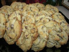 Now You Can Pin It!: Almond Joy Cookies: I cut this recipe in half and it still made alot of cookies.