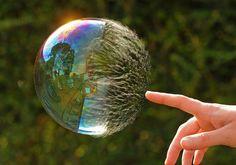 Bubble Pop (Colour and Focus) by richard.heeks, via Flickr