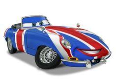 Ertl Shaguar Jaguar Cartoon Car