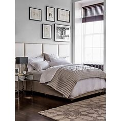 Buy White/Grey John Lewis & Partners Soft and Silky Treviso Cotton Bedding, Single duvet cover from our Duvet Covers range at John Lewis & Partners. Free Delivery on orders over Cotton Bedding, Linen Bedding, Bed Linens, Bedding Sets, Baby Crib Sets, Bedspreads Comforters, Single Duvet Cover, Mirrored Furniture, White Bedding