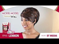 MODEL MODEL Premium Wig Lennon Wigs, Model, Color, Style, Hair Wigs, Stylus, Scale Model, Colour