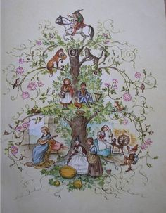 The Tasha Tudor Book of Fairy Tales by Rose (aka crafty mcgee), via Flickr