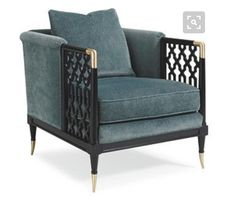 LIVING ROOM: Lucio Club Armchair from Caracole (Reference)