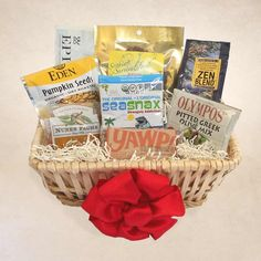 5653058aa6967 This basket was designed with paleo challenges in mind. If your loved one  is trying