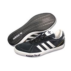 ADIDAS Men Goodyear Driver Vulc in Black/White/Gold. Style: G44887. These are a very popular casual shoe that are so comfortable! Don't miss out on the deal we have for these.