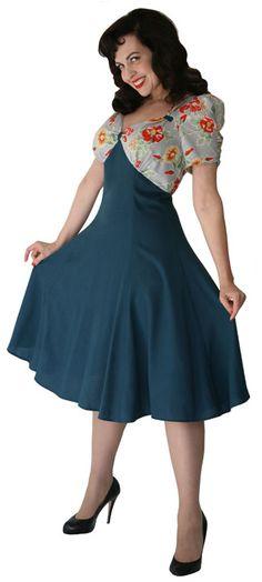 1940's style dress