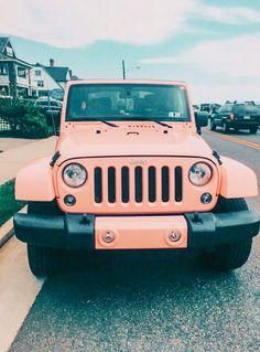 My Dream Car, Dream Cars, Jeep Cars, Jeep Jeep, Pink Jeep, Cute Cars, Fancy Cars, Car Goals, Future Car