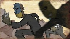 Masked men exploit an edible smaller species as a renegade scientist perfects a cloning process to satisfy demand, but the clones conceal a destructive secret. More info at http://blendfilms.com. As a hand drawn film, I'm offering the original drawings (the actual frames of animation) from this film at http://patricksmith.bigcartel.com/